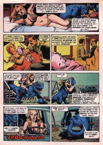 bande dessinée, littérature, société, politique, Richard Corben, métal hurlant, amaury watremez