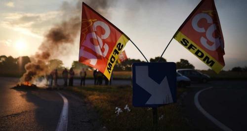 politique, syndicats, philippe sanchez, grèves, blocage du pays, amaury watremez