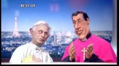 politique,christianisme,humour,télévision,canal plus