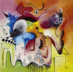 Arts, peinture, Myriam le Corre, Ruthy Petillantiste, amaury watremez