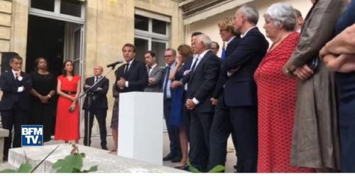 Emmanuel Macron, affaire Benalla, société, satire, ironie, presse, En Marche, politique, amaury watremez