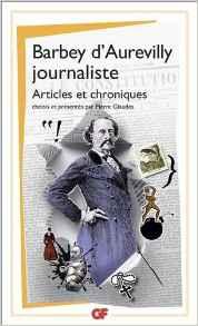 littérature, société, politique, Barbey d'aurevilly, amaury watremez
