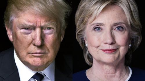 Donald Trump, Hillary Clinton, société, Etats Unis, politique, amaury watremez, Amérique