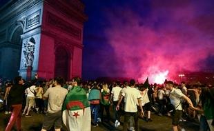 CAN, 1/4 de finale algérie, débordements, france, champs elysées, amaury watremez